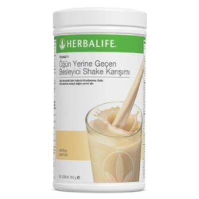 Herbalıfe Formül 1 Besleyici Shake VANİLYA Aromalı + Shaker