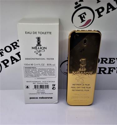 Paco Rabanne 1 Million Edt 100 ml Erkek Tester Parfüm