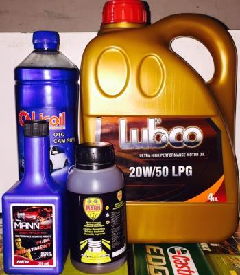 LUBCO LPG 20W50 4LT MOTOR YAĞI