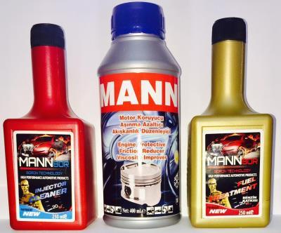 mann motor onarıcı+enjektör temizleyici+benzin katkısı