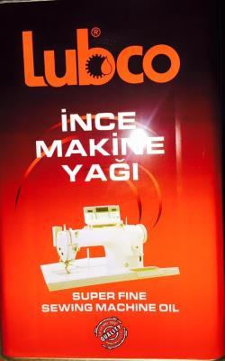 lubco ince makine yağı 16lt tnk