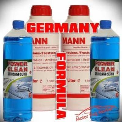 Mann Organik Kırmızı Antifriz1.5 lt -37 (2 ADET) 2 Camsuyu