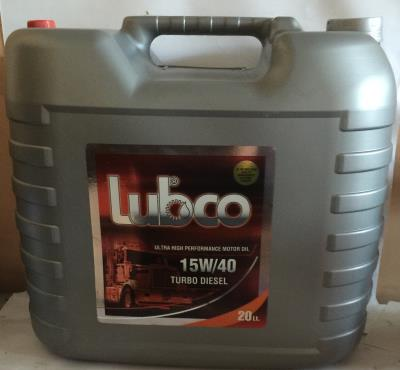 Lubco turbo dizel 15w40 20 lt bidon