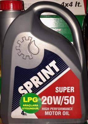 SPRİNT LPG 20W50 4LT