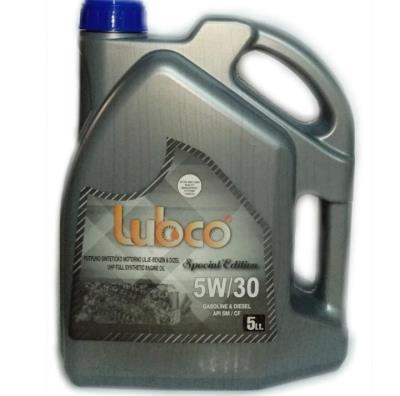 Lubco 5w30 Tam Sentetik 5 Lt Benzinli ve Dizel Motor Yağı