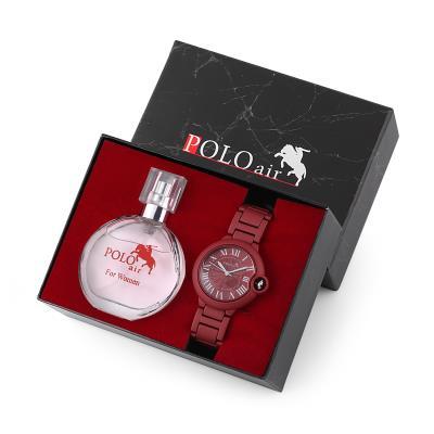 Polo Air Kadın Kol Saati Parfüm Hediyelik Set Kombin pl-1270b