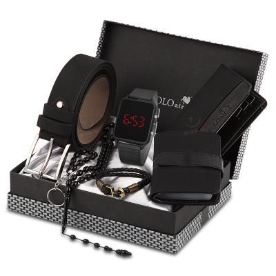 Polo Rucci Led Dijital Özellikli Erkek Kol Saati Seti Pl0167e