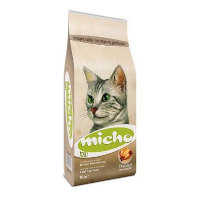 Micho Adult Cat Tavuklu (Hamsi ve Pirinç eşliğinde) Yetişkin 6 kg
