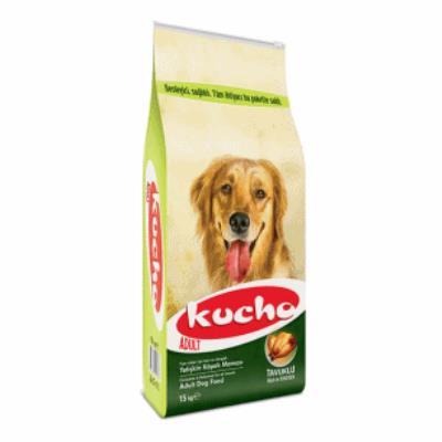 Kucho Adult Dog 15kg Tavuklu Yetişkin Köpek Maması