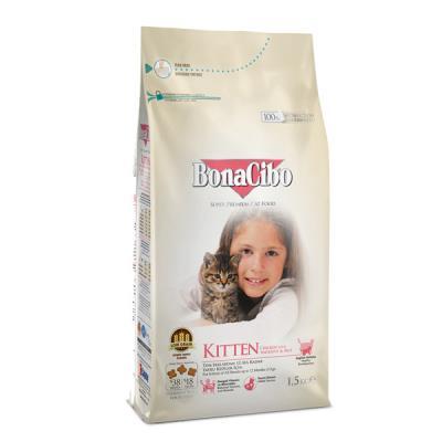 BonaCibo Kitten Tavuklu Yavru Kedi Maması 3 Kg