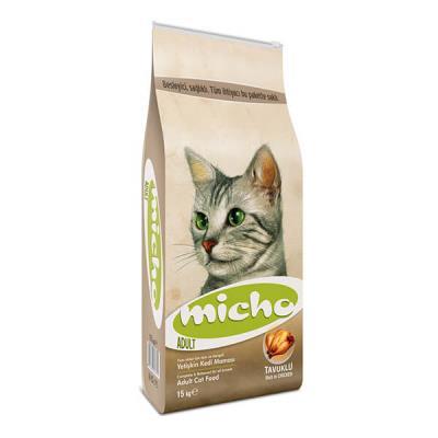 Micho Adult Cat Tavuklu (Hamsi ve Pirinç ) Yetişkin Kedi  15 kg