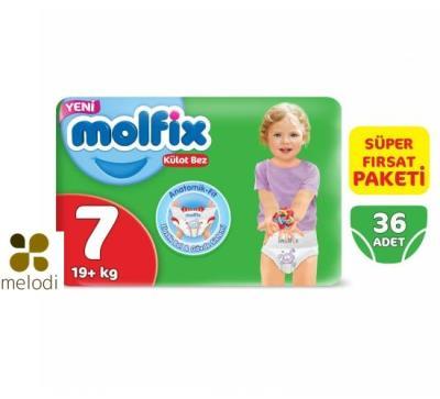 Molfix Külot Bez 7 Beden XXLARGE 36 Süper Fırsat Paketi