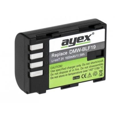 Panasonic Lumix DMC-GH3, GH4, GH5 İçin DMW-BLF19E Batarya