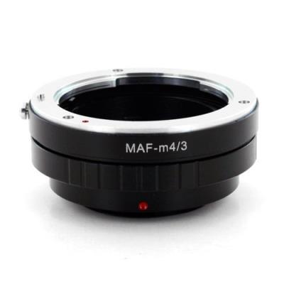 Olympus Micro 4/3 (M4/3) İiçin Minolta Sony AF Lens Adaptörü