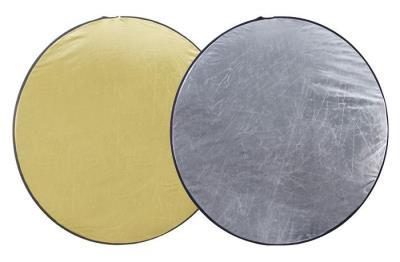 Reflektör, Işık Yansıtıcı 56cm 2 in 1 Gold Silver