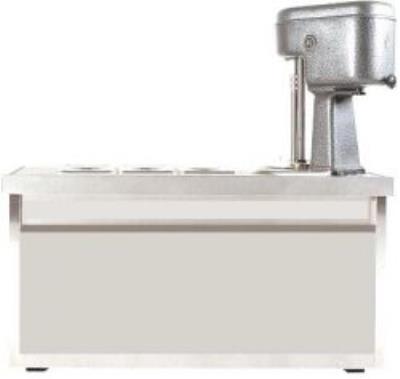 3 Gözlü Dondurma Yapma Makinası
