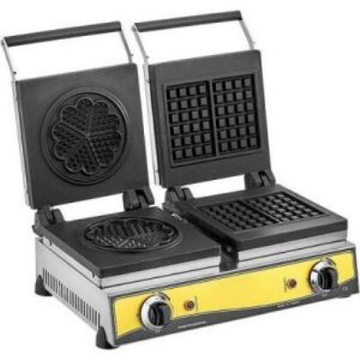 Kare+Çiçek Waffle Makinesi