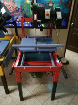 Sulu Elektrikli Bims Ytong Kesme Makinası 600 mm Testereli