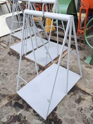 Yerden Kumandalı Gırgır Vinç Newton Makine 50 mt Halatlı