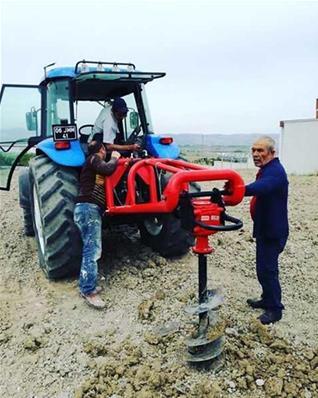 Traktör Bağlantılı Hidrolik Toprak Burgusu