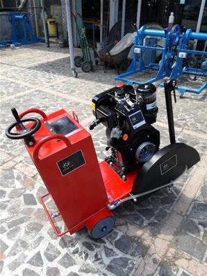 Dizel Motorlu Asfalt Kesme Makinesi B450 Newton Makine