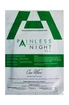 Painless night glu agrı bantları 25'li paket yeni ürün