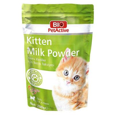 Kitten Milk Powder-Yavru Kedi Süt Tozu 200 gr