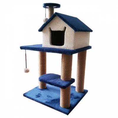ŞT-035 45x55 Y:100,katlı basamaklı kedi evi