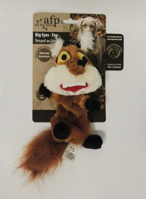 4082 Big Eyes - Fox SM - Kocagöz Tilki Köpek Oyuncağı