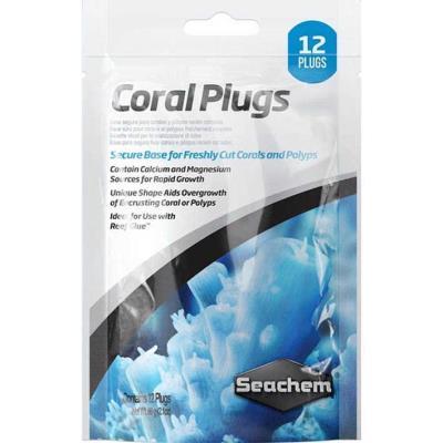 Seachem Coral Plugs 12 li
