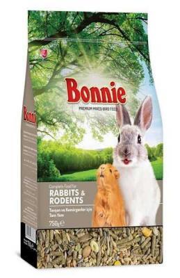 Bonnie Tavşan ve Kemirgenler İçin Tam Yem 750g (6 lı)