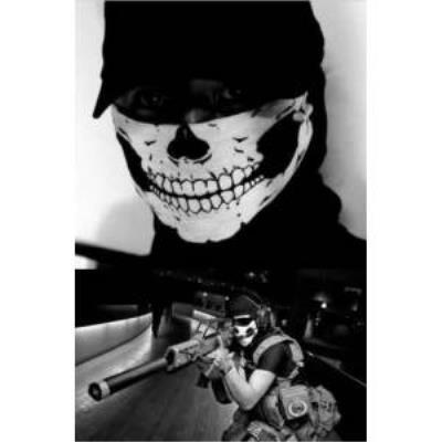 kurukafa maske ( bisiklet motosiklet paintball ) ekipman