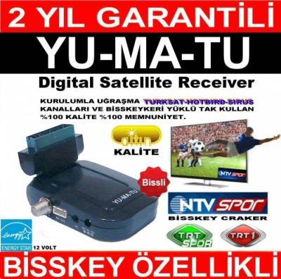 Yumatu Mini Uydu Alıcısı 2017 Yeni Model Güncel Kanallar Yüklü